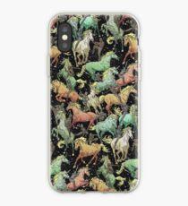 Ninjas+Unicorns iPhone Case