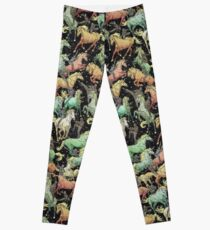 Ninjas+Unicorns Leggings