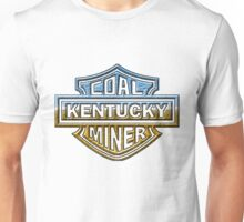 Kentucky Coal MIner chrome style Unisex T-Shirt