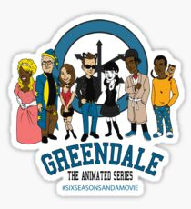GTAS: Six Seasons and a Movie Edition Sticker