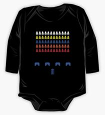 Time and Space Invaders One Piece - Long Sleeve