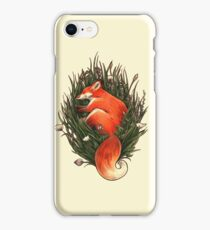 Fox in the Brush iPhone Case/Skin