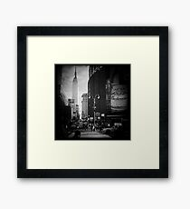 Empire & The Garden Framed Print