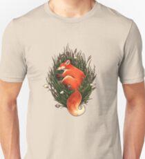 Fox in the Brush Unisex T-Shirt