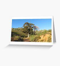 The farm gate Greeting Card