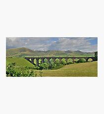 Yorkshire: Lowgill Viaduct Photographic Print