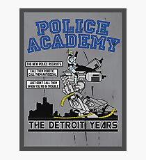 Police Academy 'The Detroit Years'  Photographic Print