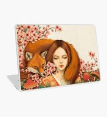 Red Fox Totem. Laptop Skin