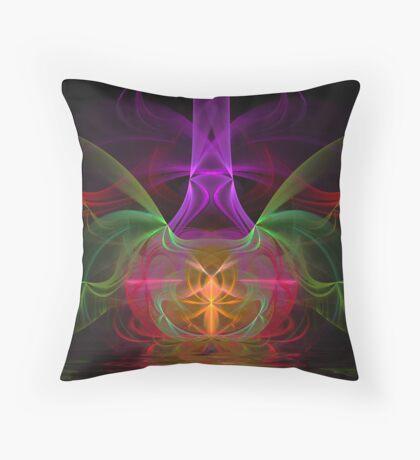 Dance of the Veils Throw Pillow