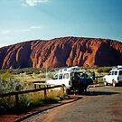Uluru (Ayres Rock). Northern Territory, Australia. by Ralph de Zilva