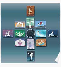 Yoga Art Series Poster
