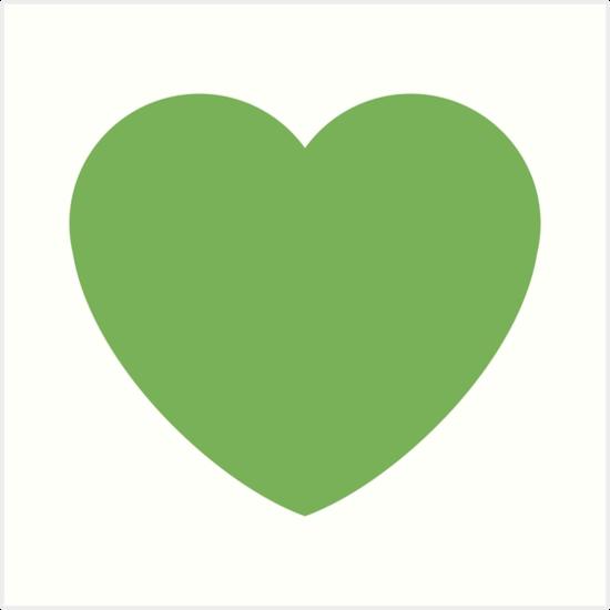 Emoji GrГјnes Herz