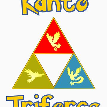 Kanto's Legendary Triforce by LevelB