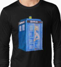 Doc and his Tardis Long Sleeve T-Shirt