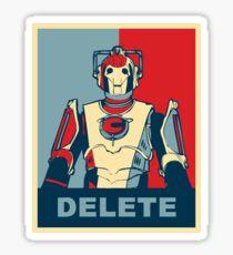 Cybermen Hope Sticker