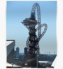 Anish Kapoor's tower for the Olympic village Poster