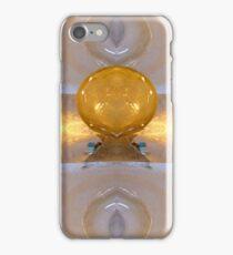 Golden Ice Basins iPhone Case/Skin