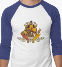 Bear & Bird Crest Men's Baseball ¾ T-Shirt