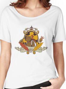 Bear & Bird Crest Women's Relaxed Fit T-Shirt