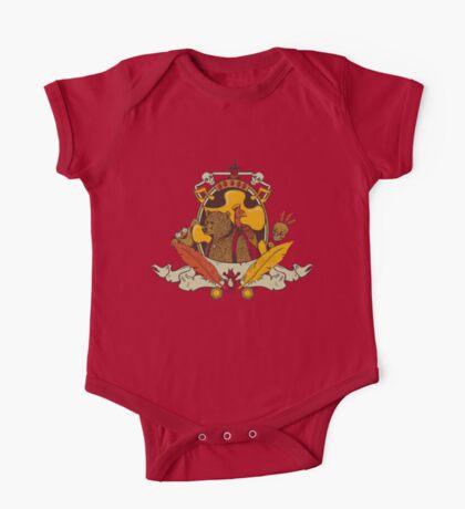 Bear & Bird Crest Kids Clothes