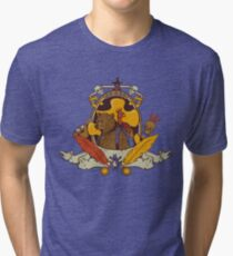 Bear & Bird Crest Tri-blend T-Shirt
