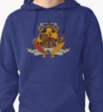 Bear & Bird Crest Pullover Hoodie
