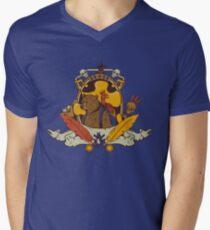 Bear & Bird Crest Men's V-Neck T-Shirt