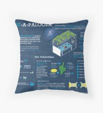 Sukkot explained: A Jewish holiday infographic Throw Pillow