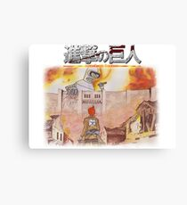 Attack On Bender Canvas Print