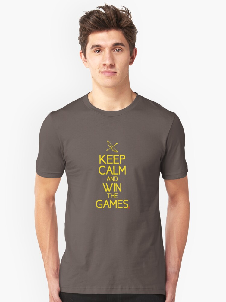 keep calm and win the games by red-of-head