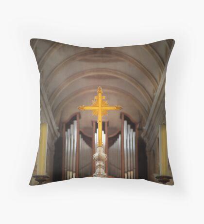 Basilica of Notre-Dame  Throw Pillow