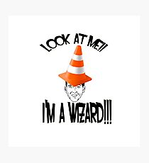 I'm a Wizard!! Photographic Print