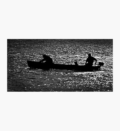 Evening on the Lake Photographic Print