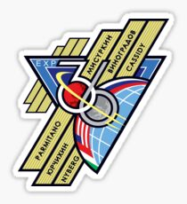 Expedition 36 Mission Patch Sticker