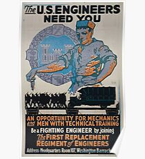 The US Engineers need you 002 Poster