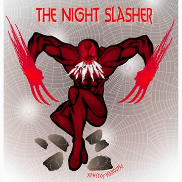 The Night Slasher T-shirt by CMProductions