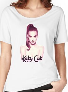 KATY CAT <3 Women's Relaxed Fit T-Shirt