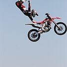 Stunt rider by stephen denton