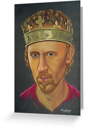 Tom Hiddleston as Henry V by Hilary Robinson