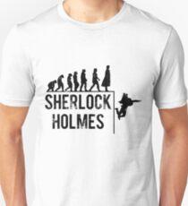 Sherlock Holmes the evolution of man T-Shirt