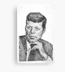 JFK Canvas Print