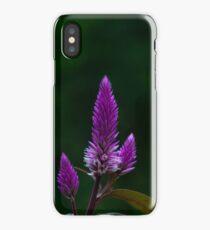 Purple spike iPhone Case/Skin