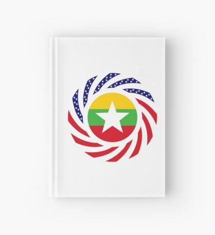 Myanmar American Multinational Patriot Flag Series Hardcover Journal