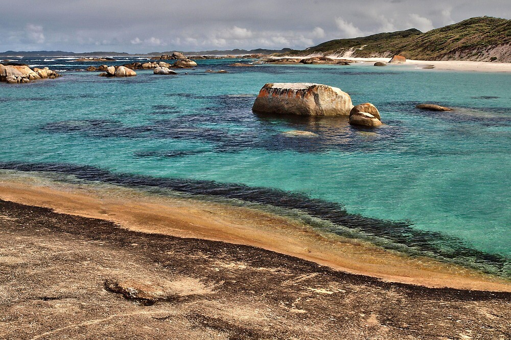 Greens Pool. William Bay NP. Western Australia. by John Sharp