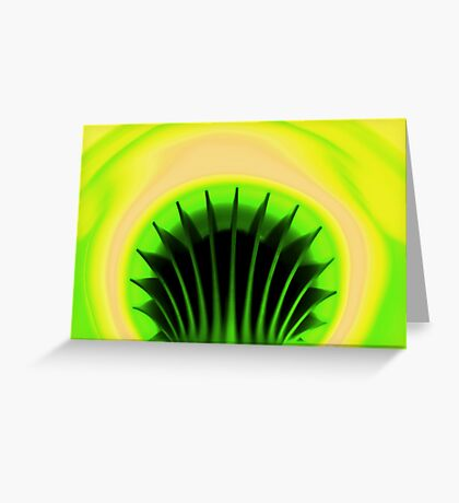 Non Mellow Yellow Greeting Card