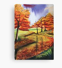 Beloved Autumn Canvas Print