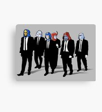 RESERVOIR FOES Canvas Print