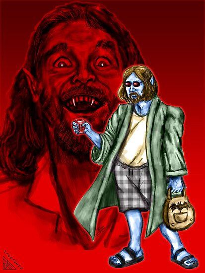 The Vampire Lebowski by rawjawbone