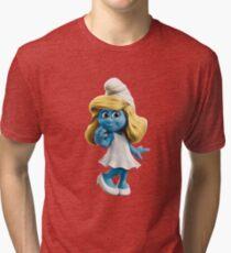 Smurfette Tri-blend T-Shirt