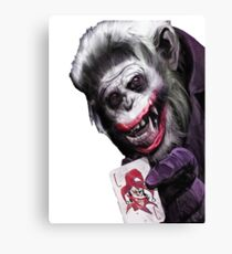 Joker Mokey Canvas Print